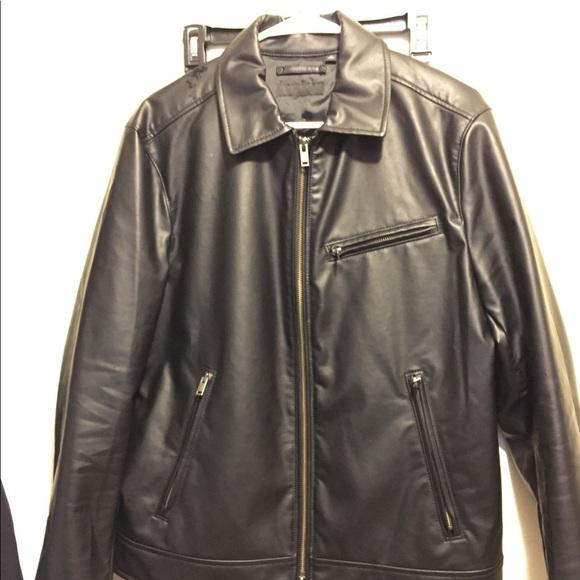 6e0ca4cc5 Men's faux leather jacket